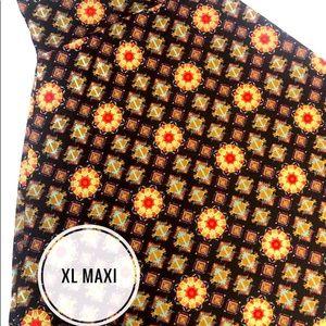 LuLaRoe XL Maxi Skirt NWT